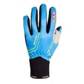 KV+ RACE Handschuh, pro-wind-tech royal schwarz