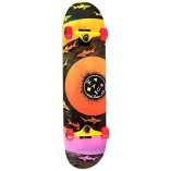 MAUI SKATEBOARD Sharknadoo orange