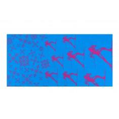 SKIER Bandana schwarz, blau, bordeaux, blau/pink