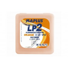 LP2 Blockwachs ORANGE (1 kg)