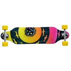"CUT OUT Longboard ""Bulls Eye"""